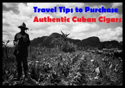 Travel Tips Cuban Cigars