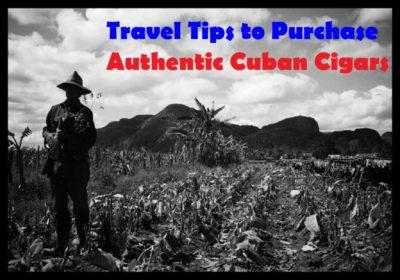 Travel Tips Cuban Cigars